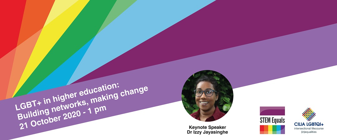 NEW DATE: LGBT+ in Higher Education: Building networks, making change