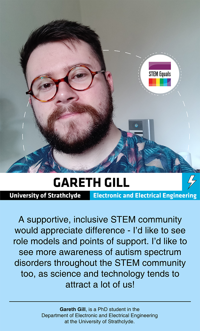 Gareth Gill - STEM Equals Profiles