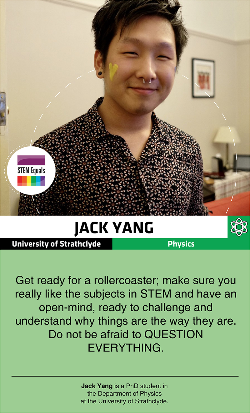STEM Equals Profiles - Jack Yang